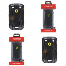 Original Ferrari Carbon Effect Hülle für BlackBerry Bold 9900 Tasche Etui Cover