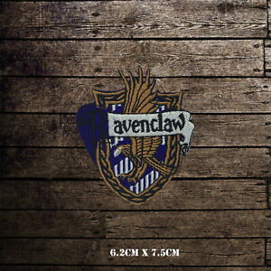 Harry-Potter-Ravenclaw-Embroidered-Iron-On-Sew-On-Patch-Badge-For-Clothes-etc