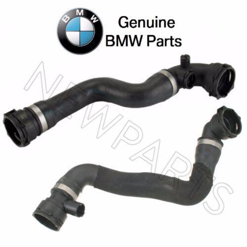 For BMW E85 Z4 Pair Set of Lower /& Upper Radiator Hoses /& Sensor Fitting Genuine