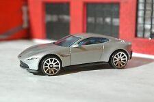Hot Wheels Aston Martin DB10 - 007 The Spectre - Silver - Loose - 1:64