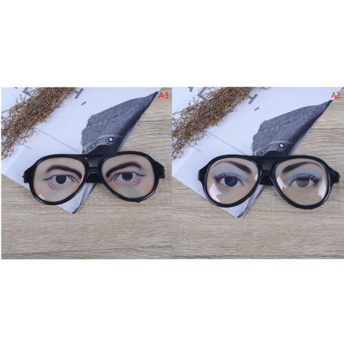 1Pc Novelty glasses halloween toy photo booth props party funny glassesj$