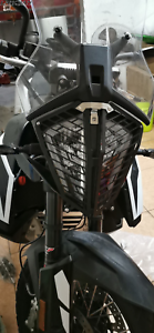 Black Moto Headlight Protector cover grill For KTM 790 adventure//R//S 2019-2020