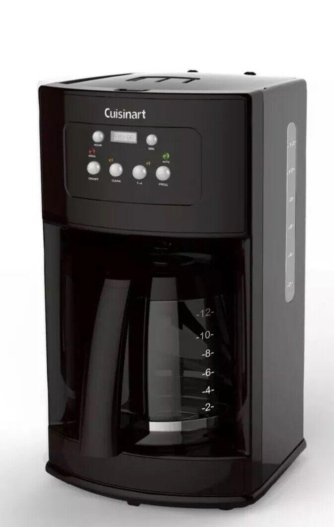 Cuisinart DCC-500 12-Cup verre programmable Premier Cafetière et Auto Clean