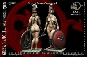 Amazon-Warrioress-I-75mm-1-Figurine-El-Viejo-Dragon-Miniaturas-AS75-70