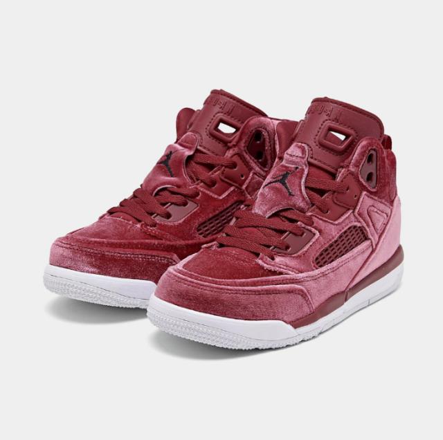 Jordan Spizike Basketball Shoes Girls Little Kids Preschool Size 2y Red