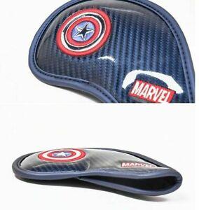 Volvik-VAHB-Premium-Marvel-Golf-Iron-Head-Cover-Captain-America-9EA-SU