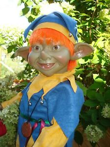 Fantasy Elfe Puck Künstlerpuppen Sammlerpuppen Elfo 80cm