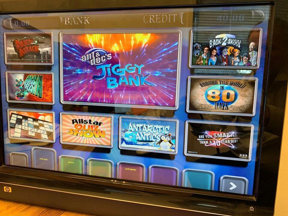 touchscreen emu maskine, spilleautomat, God