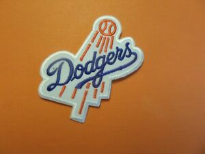 VINTAGE /'60s LOS ANGELES DODGERS STITCHED Logo PATCH
