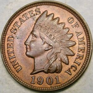 of Good//better 1800/'s dated Indian Head Cents Nice Roll 50