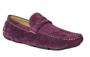 AC Casuals Men s Purple Fashion Slip On Loafers Driving Shoes 6516 ... b5bb8bc003f