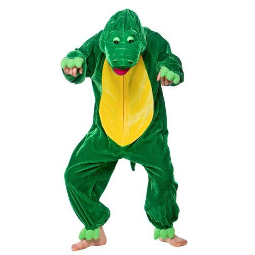 Costume Bambino Coccodrillo Costume Animale Giungla divertente libro bambini età 3-13