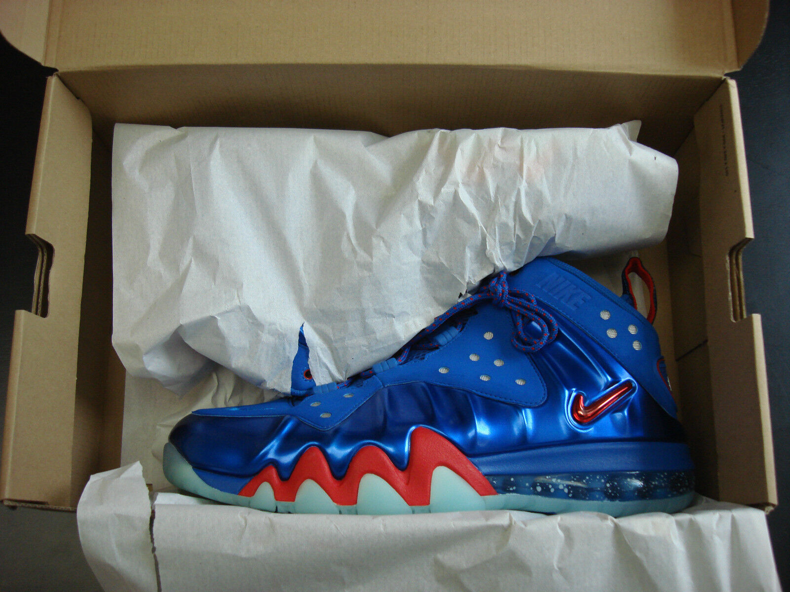 Nike chuckposite blau energie / feuer sz 11 sz11 blau chuckposite posite max db3aec