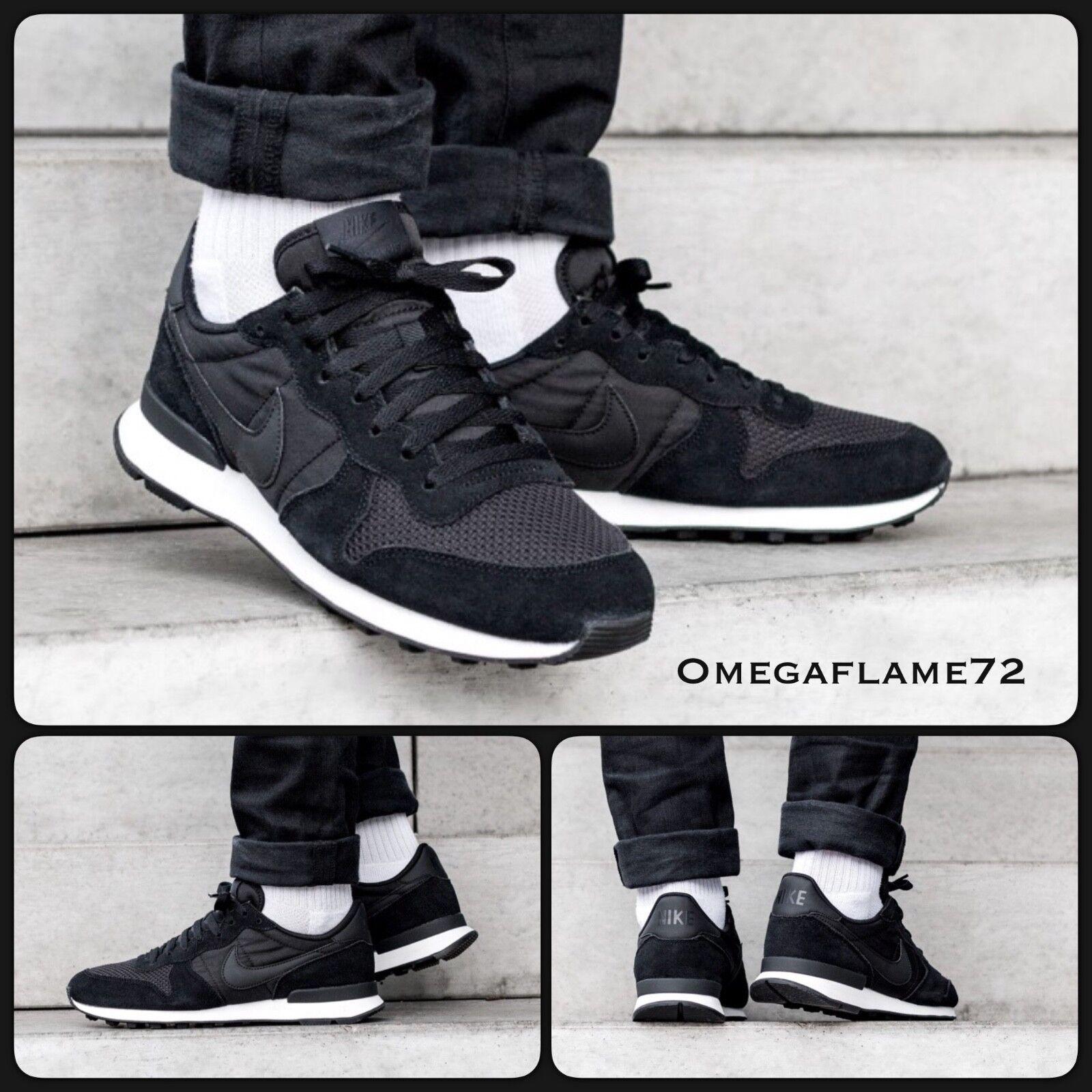 Nike internationalistischen se, 11, aj2024-002, aj2024-002, 11, schwarz & segel 2bc07a