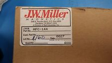 2 Pcs Rfc 144 Jw Miller Frequency Selective Rf Choke 24uh Freqmc 75 180