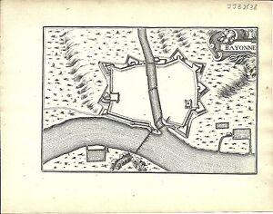 Antique-map-Bayonne