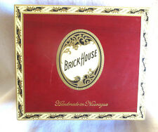 BRICK HOUSE TORO RED WOOD CIGAR BOX  - BEAUTIFUL!