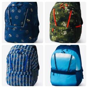Lands/' End ClassMate Large Backpack Mossy Bark Tie Dye Green