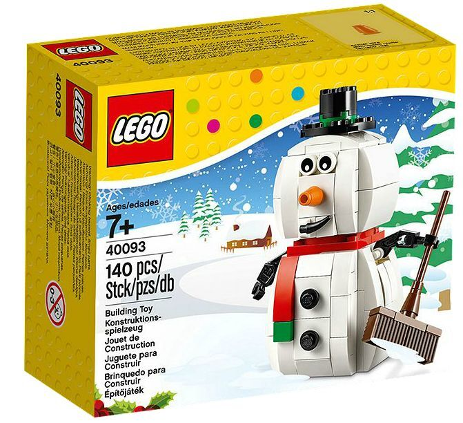 LEGO ® 40093 pupazzo di neve NUOVO OVP _ Snowman NEW MISB NRFB 40092 40035