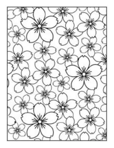 1 DARICE Prägeschablone C6 EMBOSSING FOLDER 18 66-74