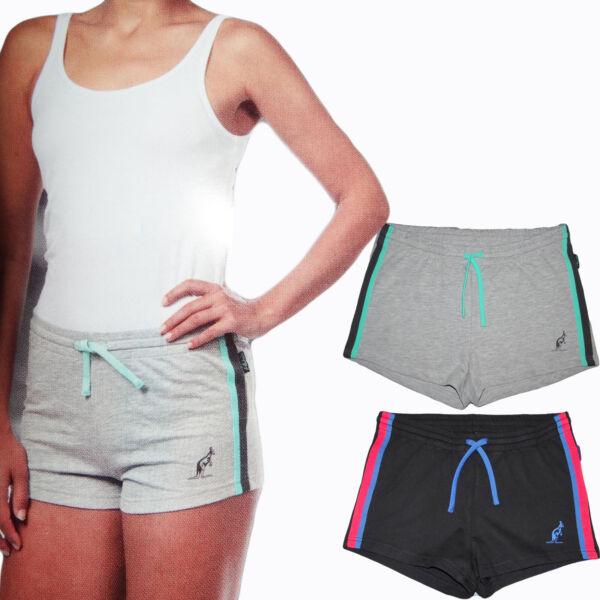Damen Sommer Sport Shorts Kurze Trainingshose Laufhose Sweathose