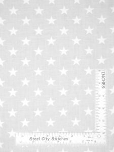 Patriotic-Tone-on-Tone-White-Stars-Star-Toss-Cotton-Fabric-Santee-By-The-Yard