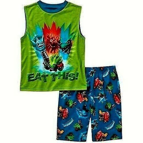 Boys/' 2-Piece Pajama Set Angry Birds Star Wars Skylanders Marvel Spider-man NWT