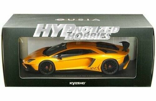 Kyosho Lamborghini Aventador Lp 750-4 1 18 Ousia DIE-CAST Naranja C09521P
