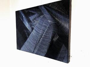 Peinture a l`huile contemporaine abstraite format 60/ 44 cm sur bois