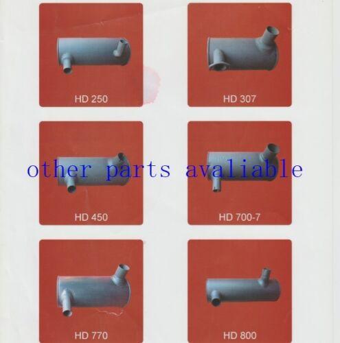 7023241 TUBE,PIPE EXHAUST FITS HITACHI EX200-2 EX200-3 6BG1 engine