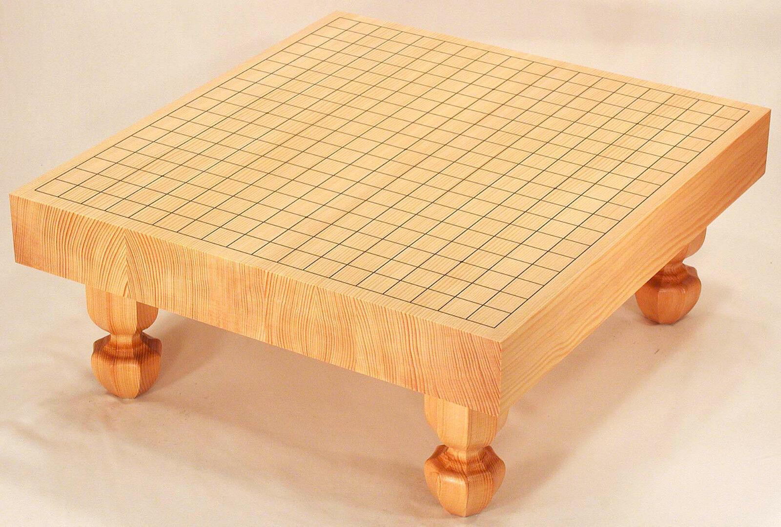 MakeOffer Japanese Game of  Go  Goban Kaya Board with Legs Igo High Quality