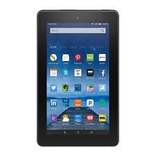 "Amazon Kindle Fire 7"" 5th Gen IPS Black 8GB Front & Rear Camera - 2016 Model"