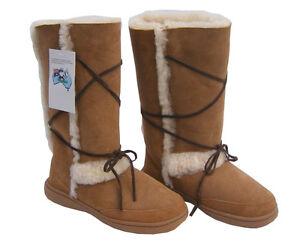 Sundance Tall Ugg Boots Chestnut Brown Aus Sheepskin
