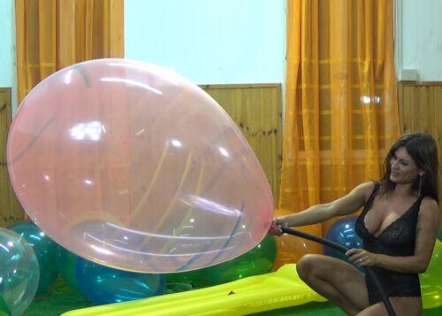 1x 24 inch Sa **Striped** Ballon *Mix Colors* riesen luftballon looner