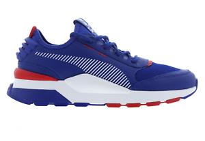 9059f81e55bf Mens PUMA RS 0 X SEGA SONIC Blue Trainers 36834 601