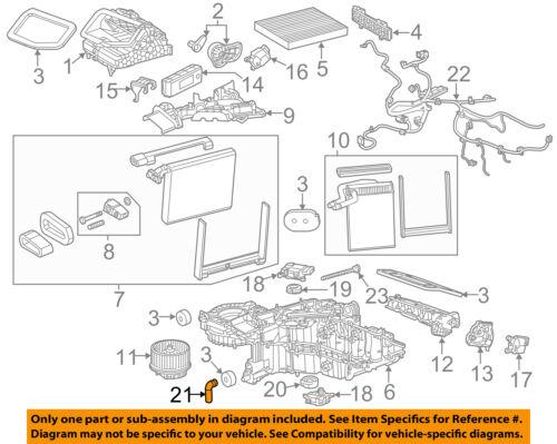 GM OEM A//C AC Evaporator Heater-Drain Hose 15138625
