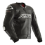 miniatuur 1 - RST Tractech Evo R Leather Sports Motorcycle Motorbike Jacket - Black