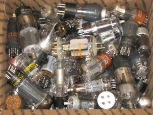 75-Vintage-AUDIO-GUITAR-AMPLIFIER-HAM-RADIO-TV-Vacuum-Tubes-Lot