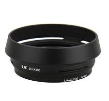 JJC LH-JX100 BLACK 49mm Adapter Hood replace LA-49X100 for Fujifilm X100 X70