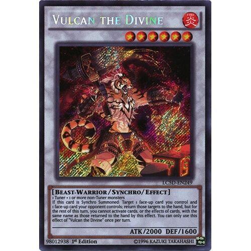 LEGENDARY COLLECTION 5D/'S YU-GI-OH LC5D-EN249 Vulcan the Divine