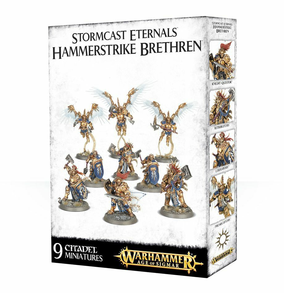 Stormcast Eternals Hammerstrike Fratelli giocos Officina Warhammer Age Of  Sigmar  acquista online