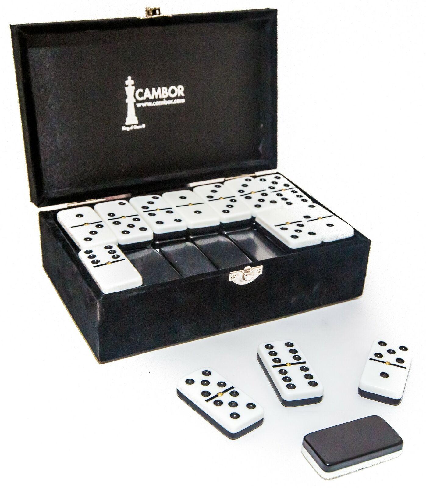 Jumbo Größe Double Nine Dominoes Set - Two Tone Tiles