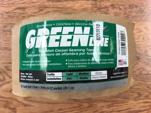 1 Roll Capitol CX-735 Green Line Carpet Seam Tape