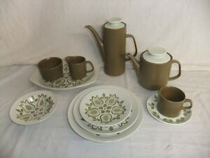 C4-poterie-J-amp-G-MEAKIN-Maidstone-Tulip-Time-Four-au-Lave-vaisselle-9B3A