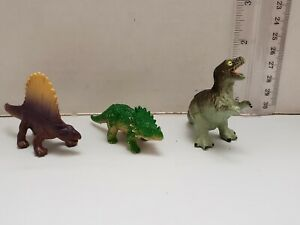 Mini-Dinosaure-Lot-de-3-PVC-Figures-expedition-rapide