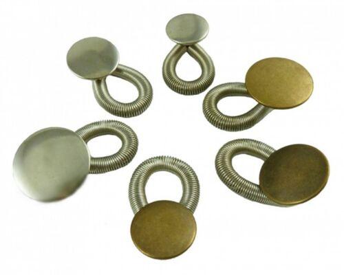 6 Stück Wunderknöpfe Hosenerweiterung Bunderweiterung Hosenknopfverlängerung