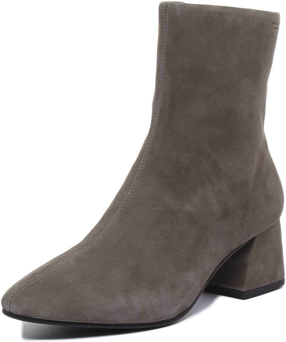 Vagabond Alice Ankle damen damen damen Stiefel In Olive Nubuck Leather UK Größe 3 - 8  902d78