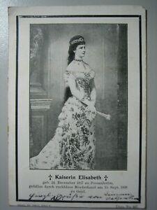 OX6634-KAISERIN-ELISABETH-SISSI-VON-OSTERREICH-in-ROBE-ERMORDUNG-10-9-1898
