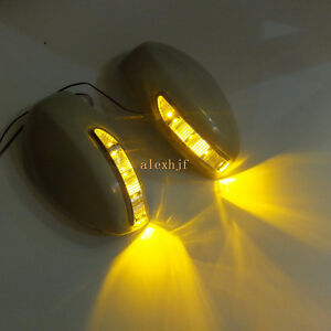 Rear-view-Mirror-LED-Light-Cover-Turn-Singal-Light-for-Infiniti-M35-Sylphy-Fufa
