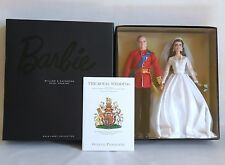William & Catherine Royal Wedding Gift Set Barbie & The Wedding Programme New